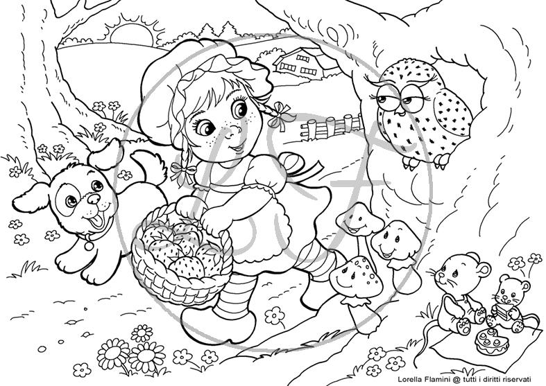 Disegni Da Stampare E Colorare Per Bambini Gratis