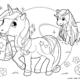 disegni da colorare disegno di unicorno per bambini