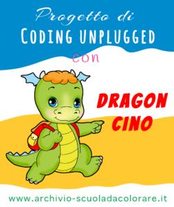 progetto di coding unplugged con dragon cino
