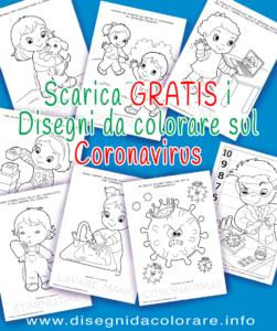 disegni coronavirus per bambini