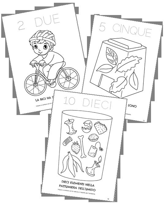 disegni ambiente per bambini