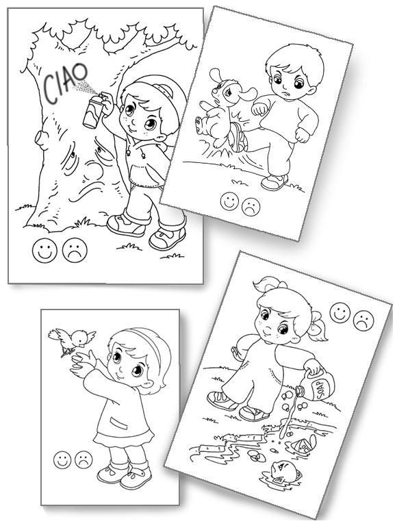 disegni ambiente bambini