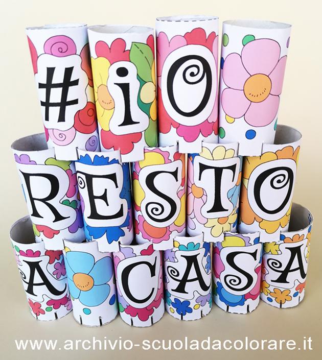 disegni coronavirus #iorestoacasa