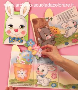 storie di pasqua coniglio farfalletto