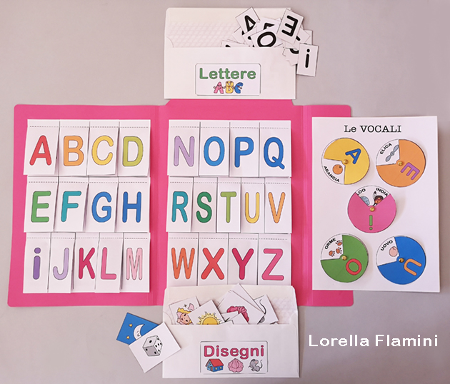 lapbook alfabeto scuola infanzia