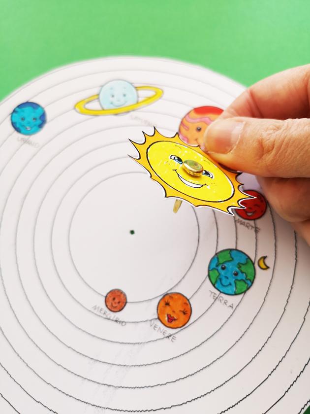 Lapbook Sistema Solare Per I Bambini Della Scuola Dell Infanzia