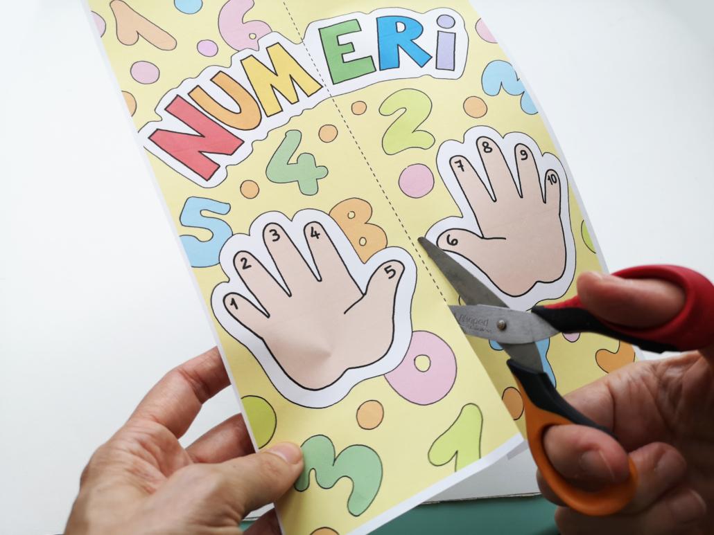 lapbook numeri copertina