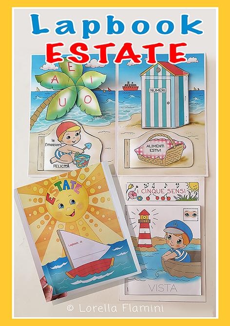lapbook estate scuola dell'infanzia